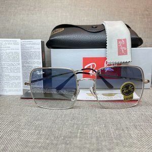 NEW Ray-Ban 1971 Grey Gradient Lens Square